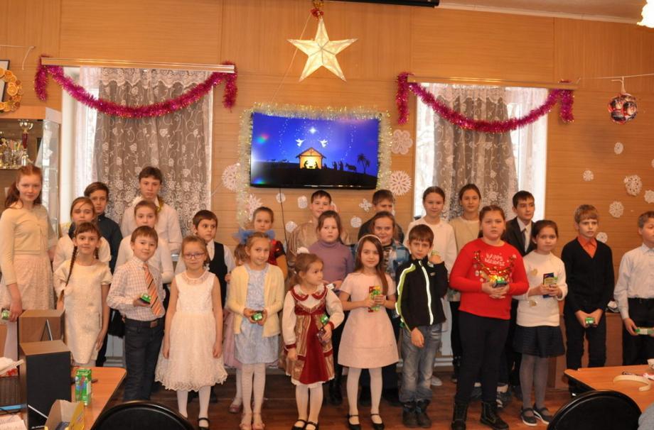 Рождество Христово - праздник детского хора  Никольского собора