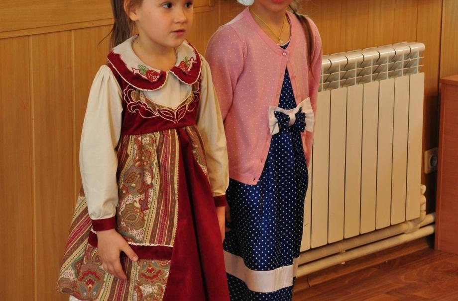Детский праздник в Неделю жен-мироносиц
