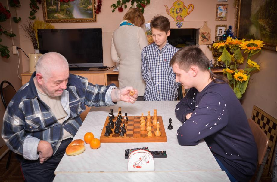 Старость в радость, Рождество Христово в доме престарелых в Поречье