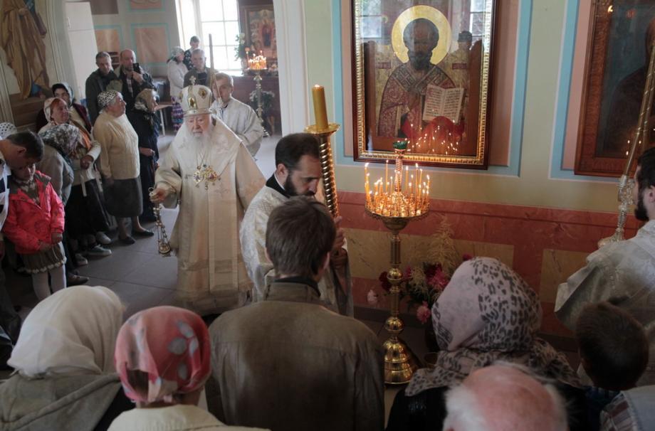 Освящение Константино-Еленинского храма