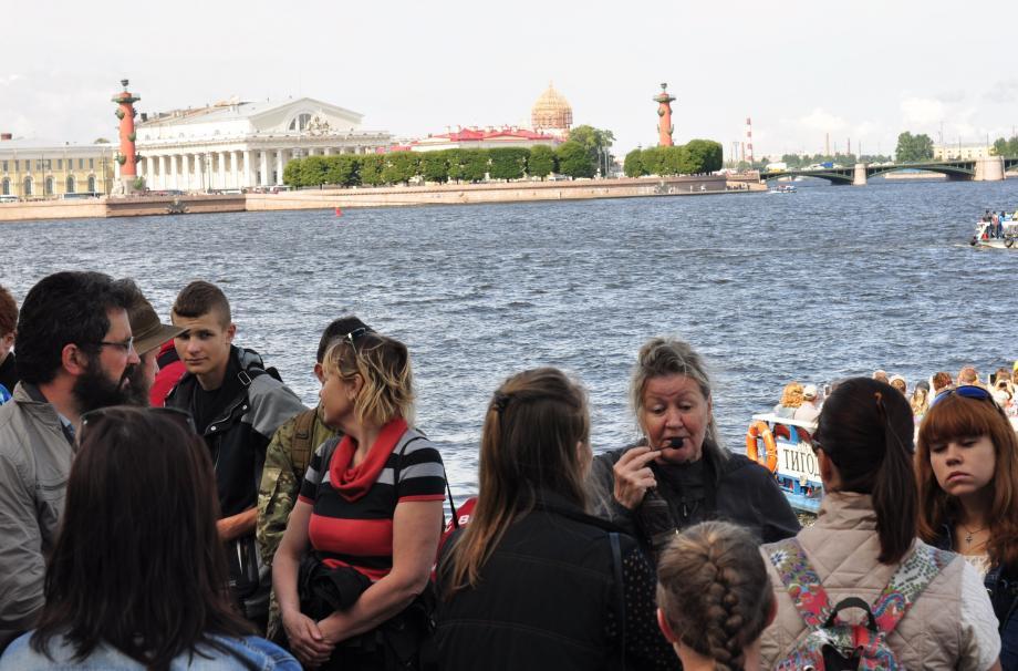 Обзорная экскурсия по Санкт-Петербургу  3-я летняя смена ВПК «Верейская застава»