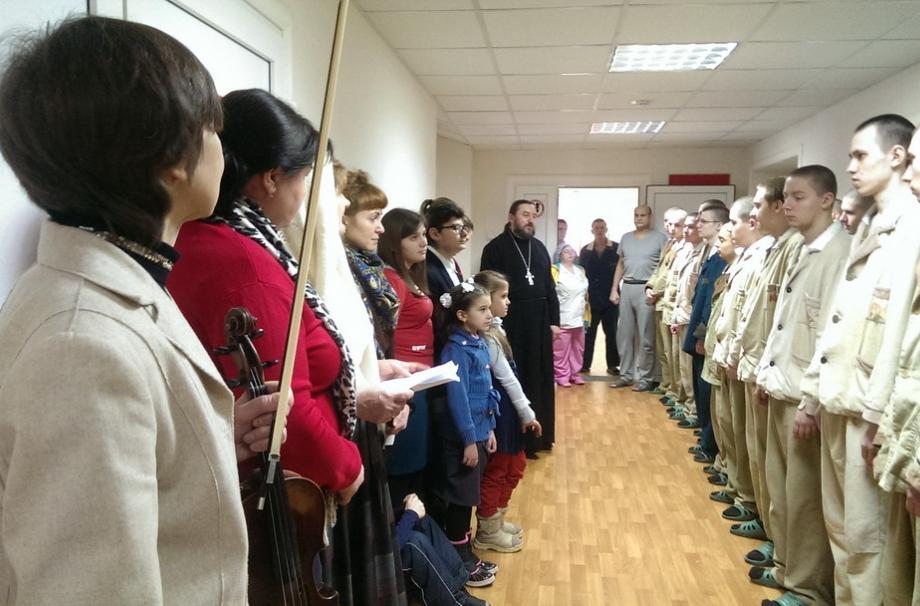 Рождество в военном госпитале Наро-Фоминска
