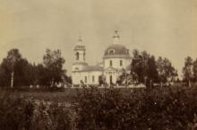 Храм Покрова Пресвятой Богородицы в Таширове (1799).  1910. ОР РГБ
