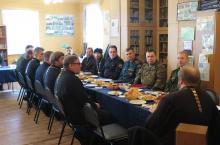 Встреча духовенства района с представителями воинских частей