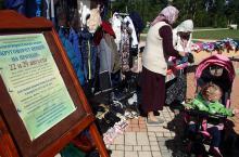Благотворительная акция к началу учебного года в Серафимовском храме п. Селятино