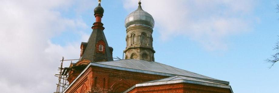 Церковь вмч. Димитрия Солунского, Дуброво