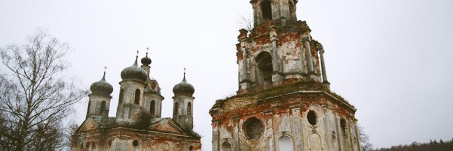 Храм Преображения Господня в д. Спасс-Косицы